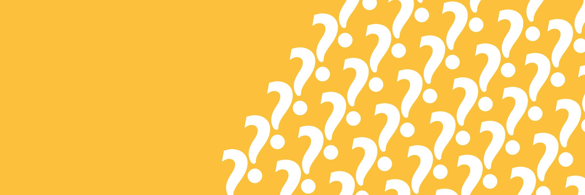 Häufig gestellte Fragen Fragezeichen Beratungsnetzwerk Grenzgänger